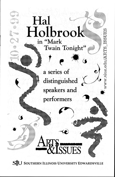 Program for Performance of Hal Holbrook