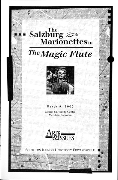 Program for The Salzburg Marionettes