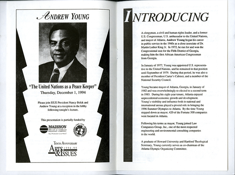 Program for Presentation of Andrew Young