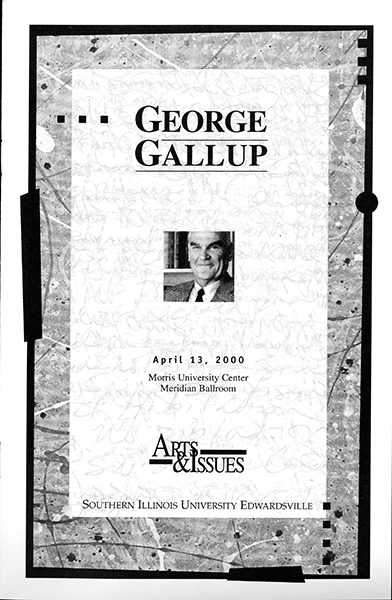 Program for Presentation of George Gallup
