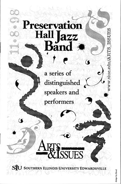 Program for Preservation Hall Jazz Band