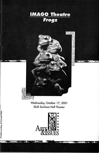 Program for IMAGO Theatre