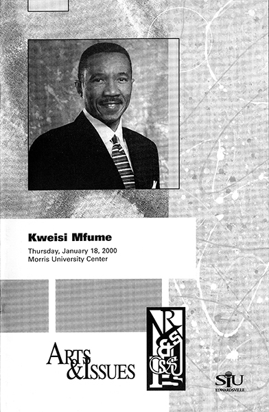 Program for Presentation of Kweisi Mfume
