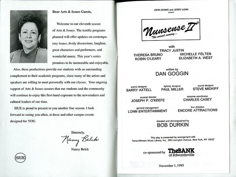 Program for Nunsense II