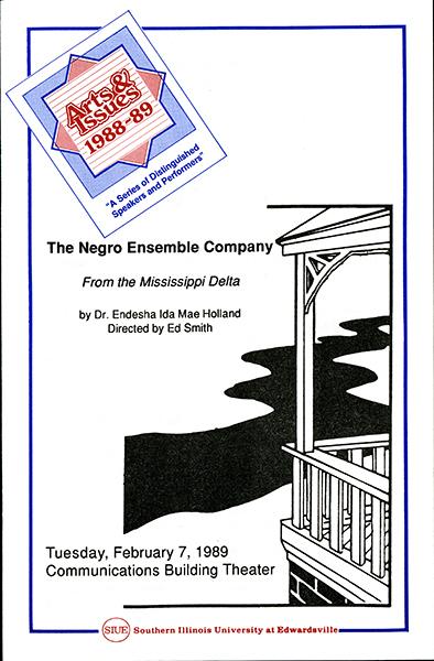 Program for The Negro Ensemble Company
