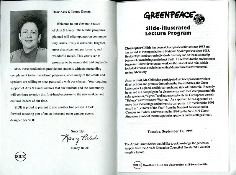Program for Experience Greenpeace