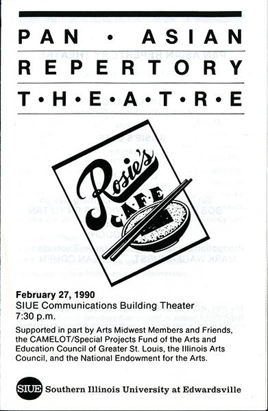 Program for Pan Asian Repertory Theatre
