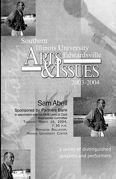 Program for Presentation of Sam Abell