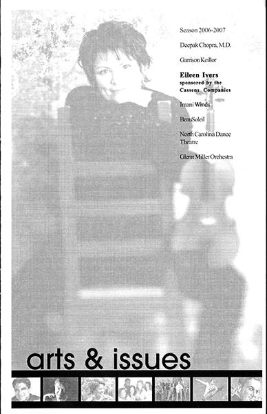 Program for Eileen Ivers