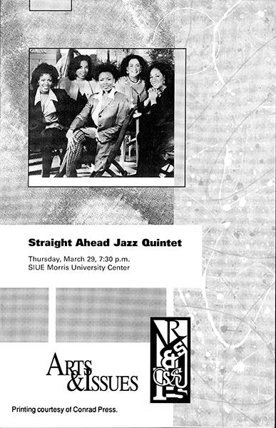 Program for Straight Ahead Jazz Quintet