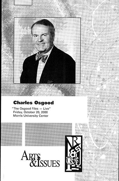 Program for Presentation of Charles Osgood