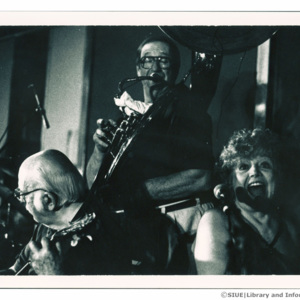 Jazz Incredibles in the Recording Studio, 1995