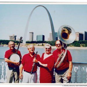 Jazz Incredibles with the Arch on the Robert E. Lee Showboat, 2002