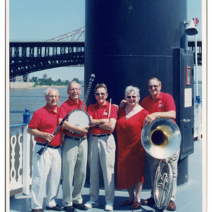 Jazz Incredibles on the Robert E. Lee Showboat, 2002