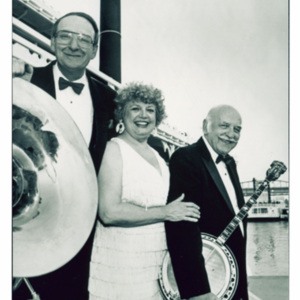 Jazz Incredibles on the Robert E. Lee Showboat, Undated